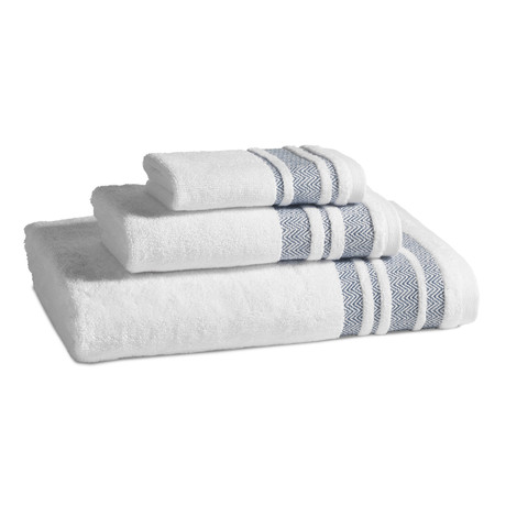 Oxford Towel // Indigo (Wash Towel)