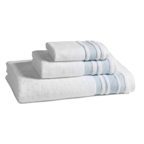 Oxford Towel // Malibu Blue (Bath Towel)