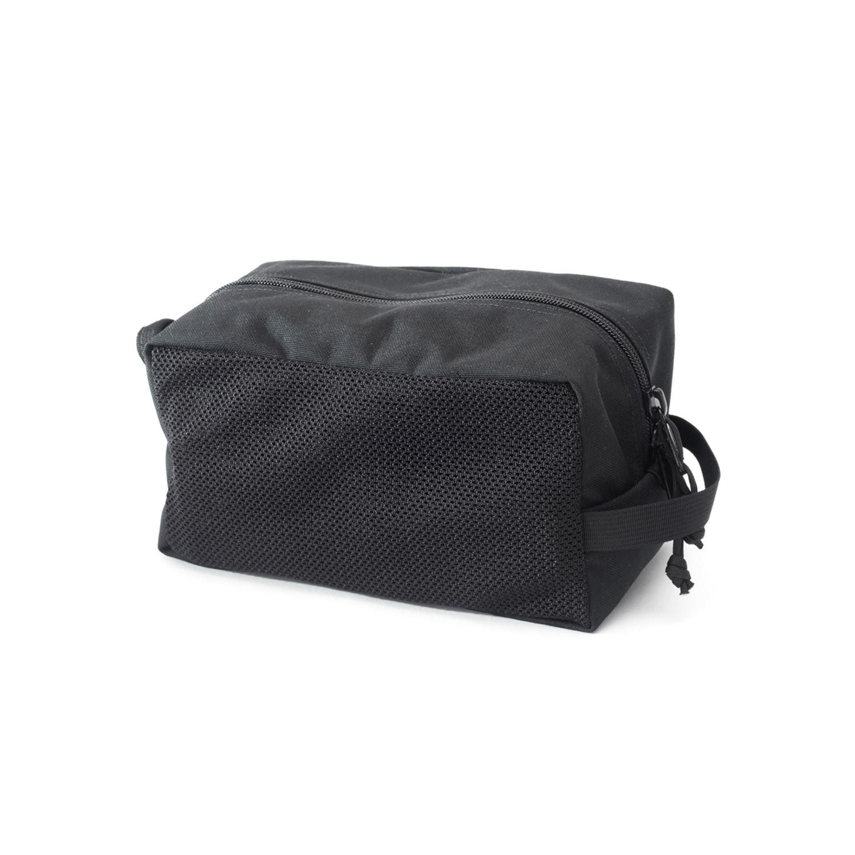 Mesh Toiletry Bag Black