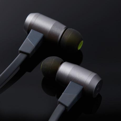 NuForce BE6i Wireless Earphones // Grey