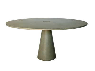 "James De Wulf Avant-Garde Aesthetic Furniture Locking Round Dining Table // Natural (48"" Diameter) by Touch Of Modern - Denver Outlet"
