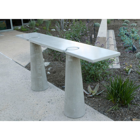 "Tall Locking Console (60"" Length)"