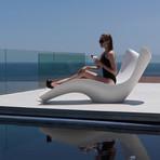Karim Rashid // SURF Sun Chaise (White)