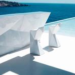 Karim Rashid // Vertex Bar Stool (White)