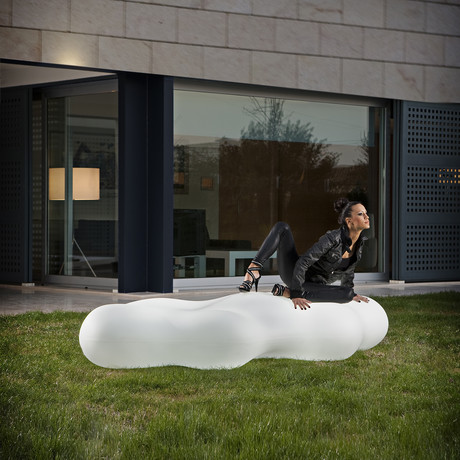 Karim Rashid // LAVA Bench LED Illumination