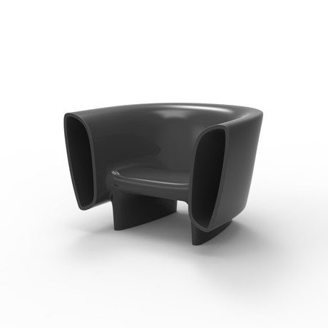 Eugeni Quitllet // BUM BUM Lounge Chair (Steel Lacquer)