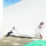 Jorge Pensi // Flat Sofa (White)