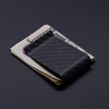 Carbon Fiber Money Clip // Matte