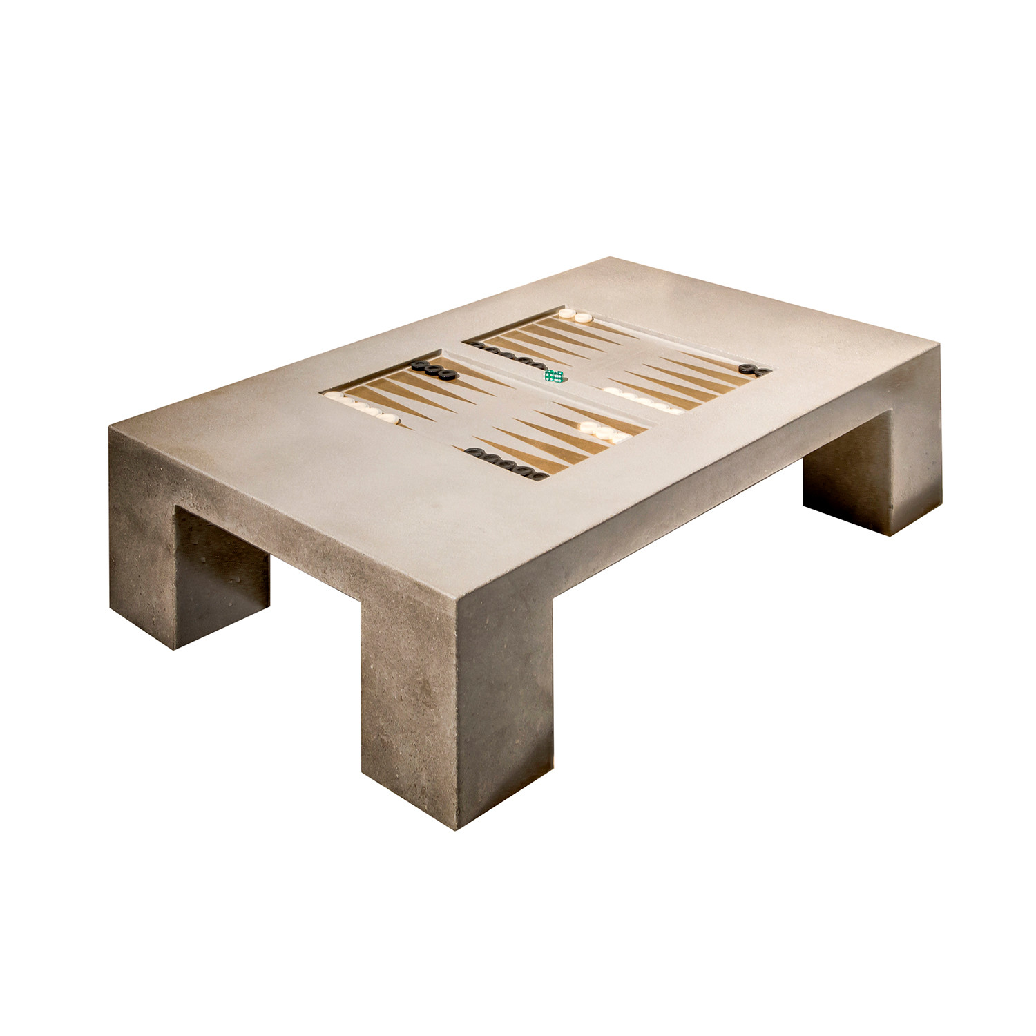 Block backgammon table james de wulf touch of modern for What is touchofmodern