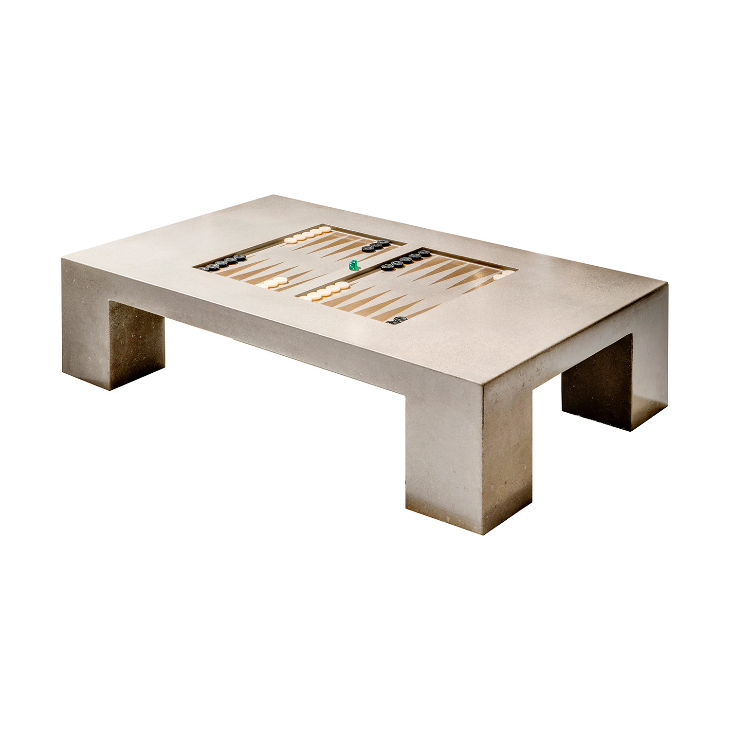 Attrayant Block Backgammon Table