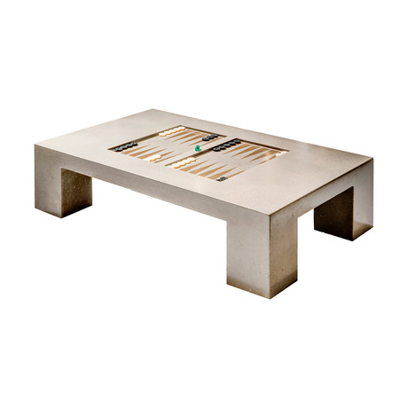Block Backgammon Table