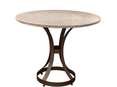 Photo of James De Wulf Avant-Garde Aesthetic Furniture Chess Table + Hourglass Base by Touch Of Modern