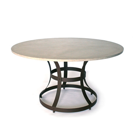 "Hourglass Cage Dining Table (48"" Diameter)"