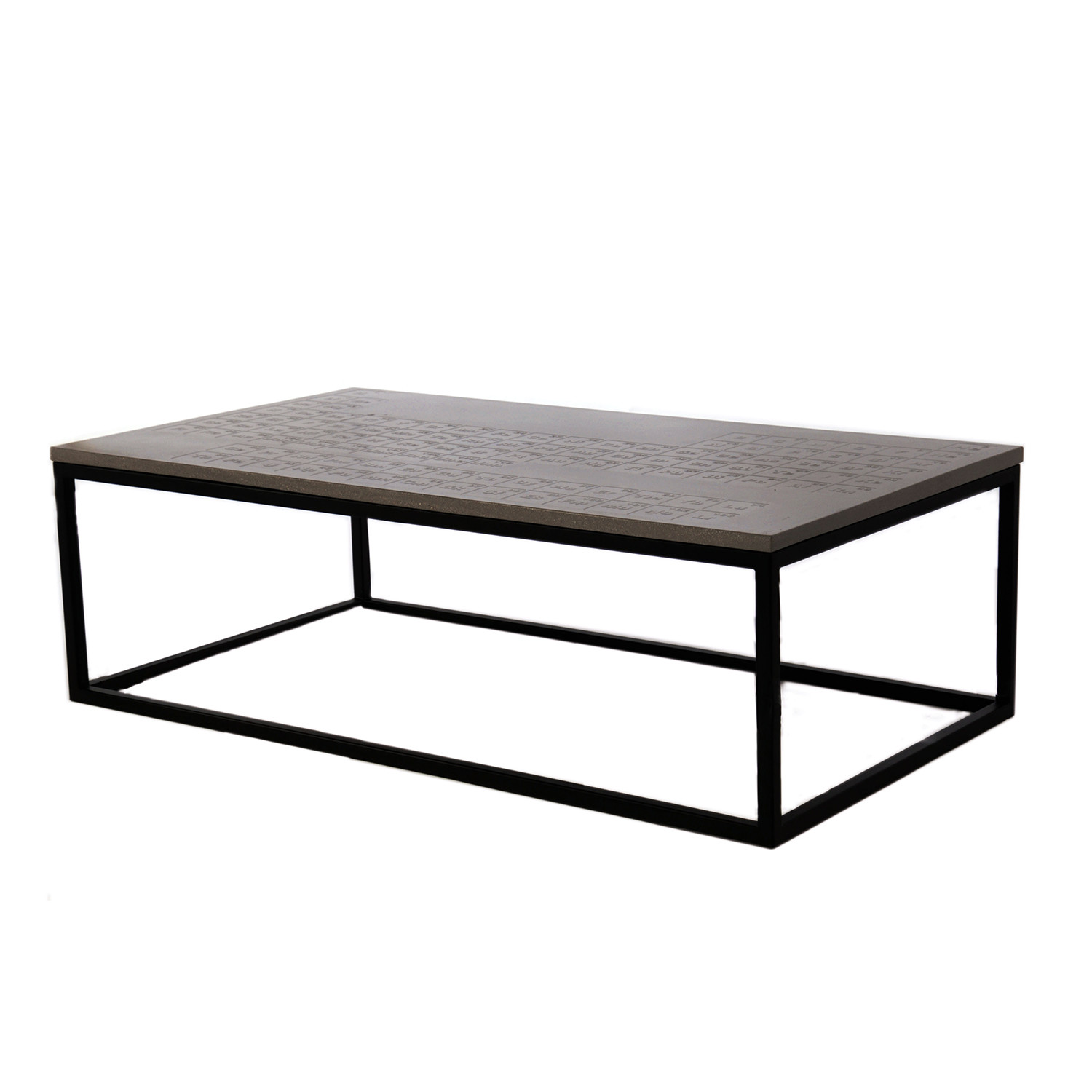 periodic coffee table james dewulf touch of modern. Black Bedroom Furniture Sets. Home Design Ideas