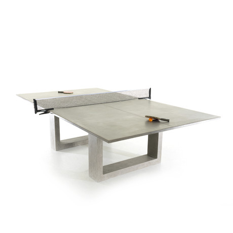 Ping Pong Table Light Grey