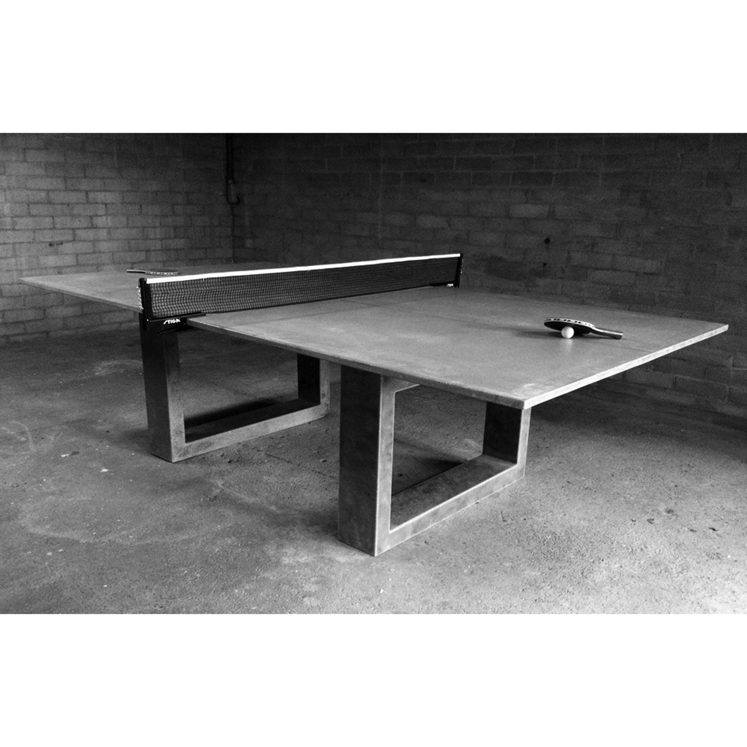 ping pong table light grey james de wulf touch of modern. Black Bedroom Furniture Sets. Home Design Ideas