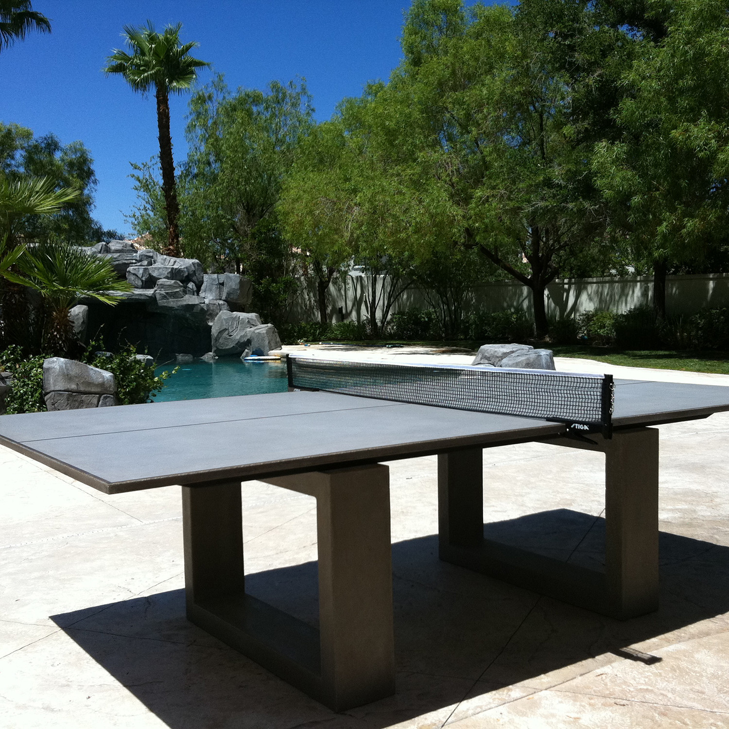 Ping Pong Table Light Grey James De Wulf Touch Of Modern