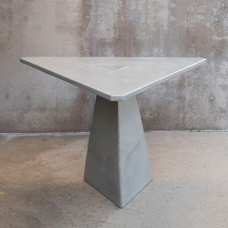 "Triangular Locking Dining Table (48""W x 48""D x 29.5""H)"