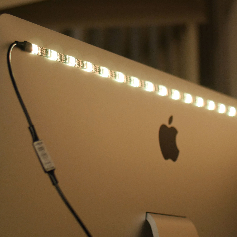 Smfx led bias lighting strip smfx smart bulbs touch of modern smfx led bias lighting strip aloadofball Images
