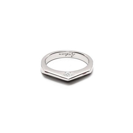 Ca Pique Ring // Zirconia