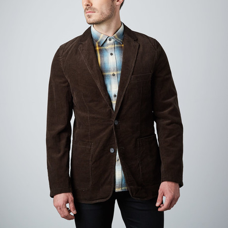 Corduroy Blazer // Brown