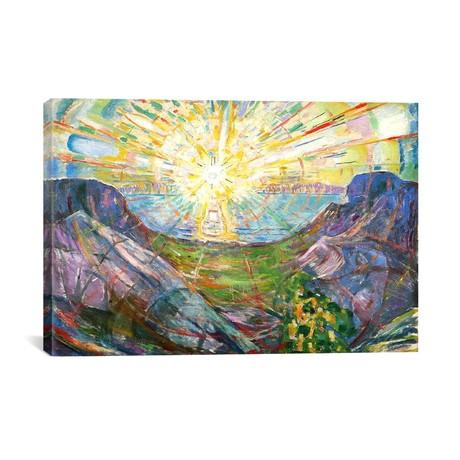 The Sun #2 // Edvard Munch // 1916