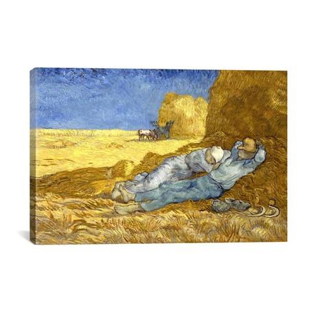 The Siesta (After Millet) // Vincent van Gogh // 1890