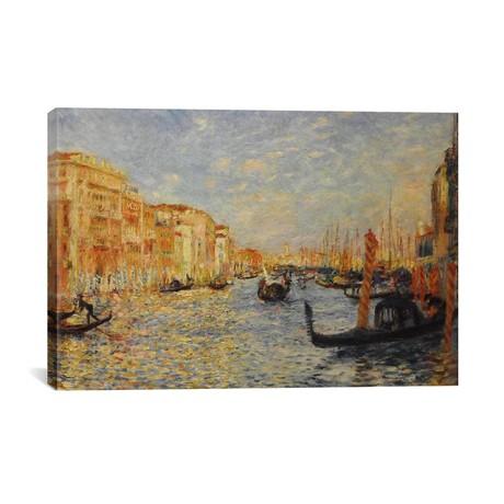 Grand Canal Venice // Pierre-Auguste Renoir // 1881