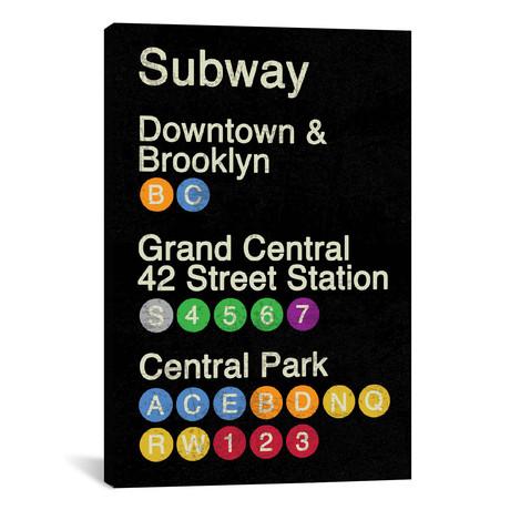 "NYC // Erin Clark (12""W x 18""H x 0.75""D)"