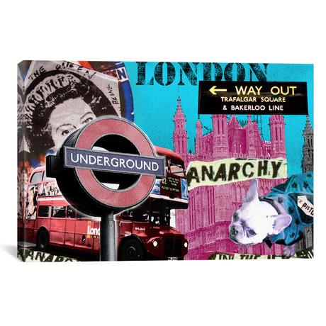 """London #1 // Luz Graphics (18""""W x 26""""H x 0.75""""D)"""
