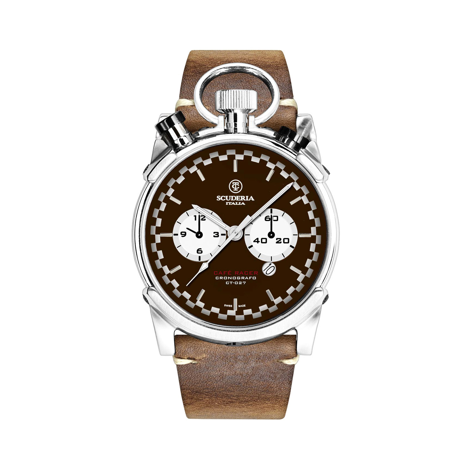 ct scuderia corsa cafe racer chronograph quartz // cs20122 - ct