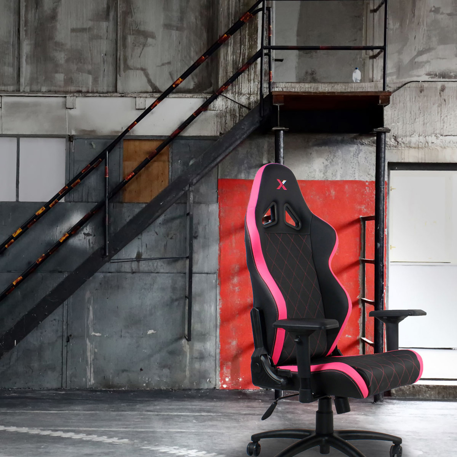 Groovy Ferrino Gaming Chair Black Pink Global Ttc Touch Machost Co Dining Chair Design Ideas Machostcouk