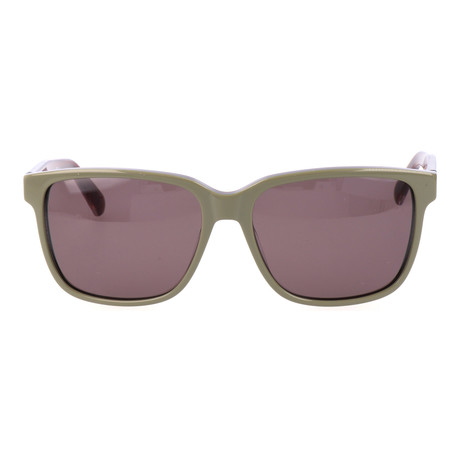 Leo Sunglass // Brown + Green
