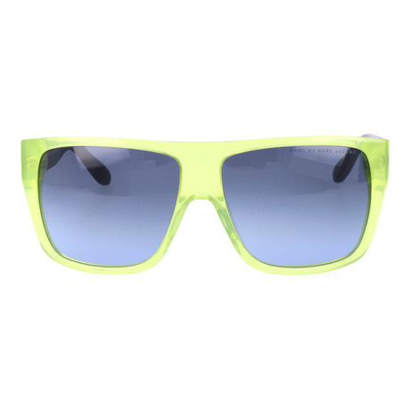 Liam Sunglass // Green + Grey + Blue + Yellow