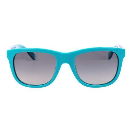 Joseph Sunglass // Green + Blue + Turquoise