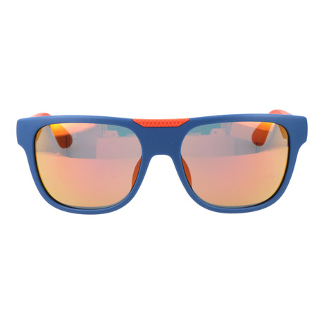 Lucas Sunglass // Blue + Orange