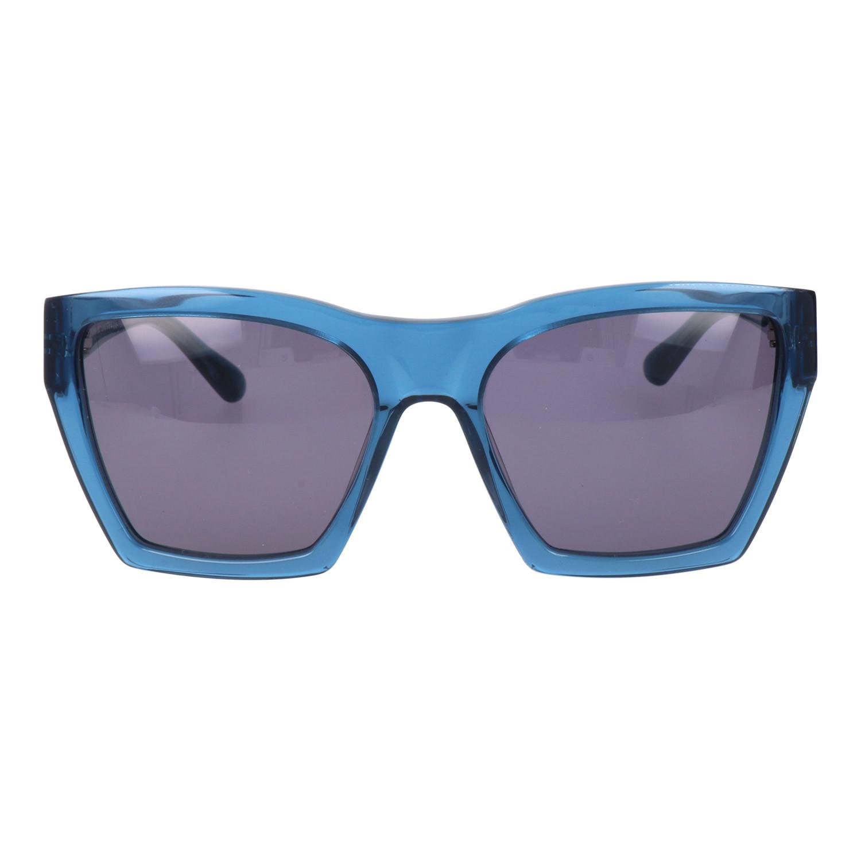 e3bb84622b118 Sharp Square Clear Rim Sunglasses    Blue - Marc By Marc Jacobs ...
