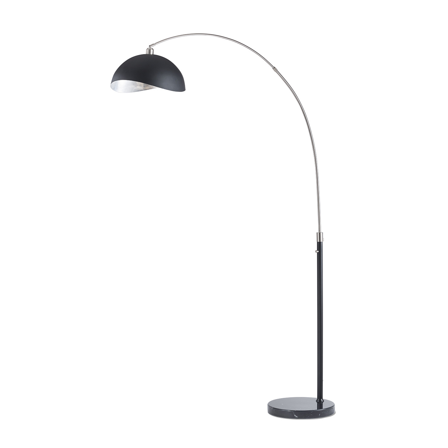 Wall Mounted Arc Lights : Luna Bella // Arc Lamp (Silver) - NOVA Lamps - Touch of Modern