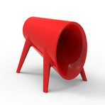 Eugeni Quitllet // BUM BUM Toro Speaker (Red Lacquer)