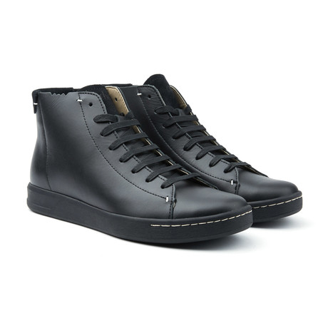Barrow Triple Black High-Top Sneakers // Black (US: 8)