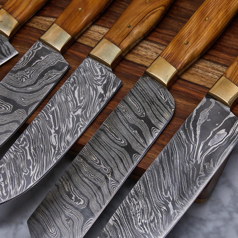 Modern Kitchen Knife Set modren modern kitchen knife set wood magnet block with german