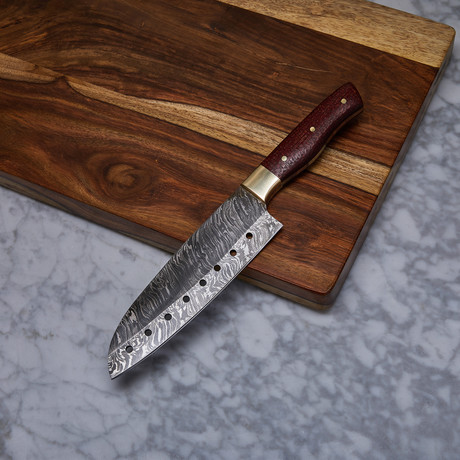 Handmade Damascus Kitchen Knife // KCH-20