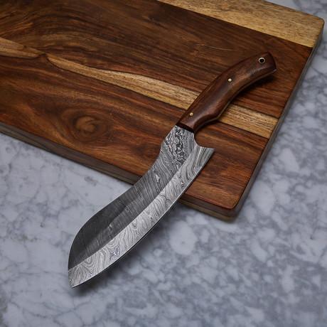 Handmade Damascus Kitchen Knife // KCH-22