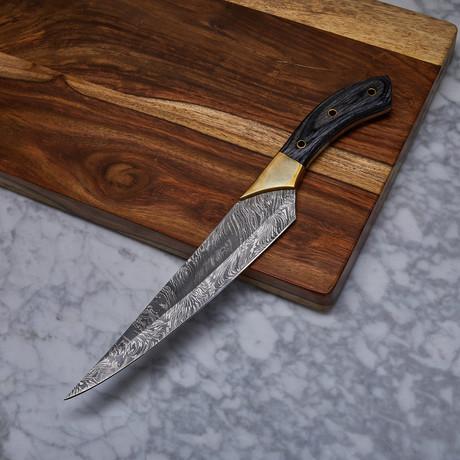 Handmade Damascus Kitchen Knife // KCH-23