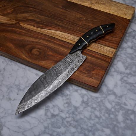 Handmade Damascus Kitchen Knife // KCH-24