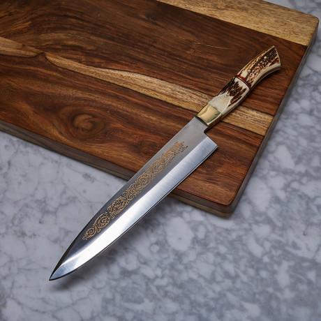 Handmade J2 Steel Kitchen Knife // KCH-25