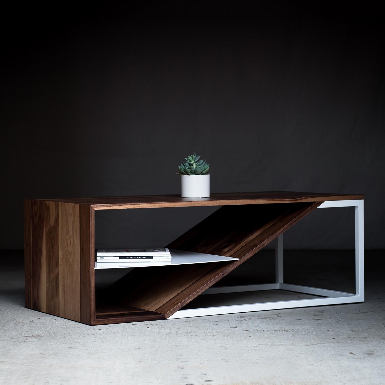 Walnut Cortado Coffee Table Harkavy Furniture Touch Of