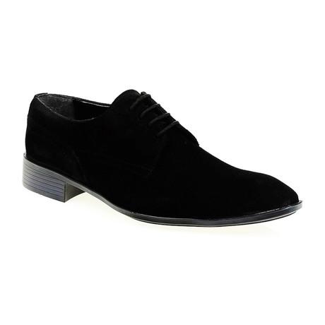 Suede Oxford // Black