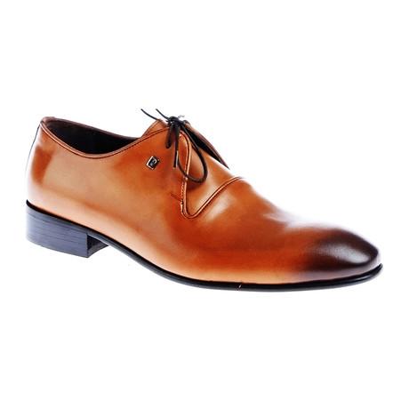 Burnished Dress Shoe // Tobacco