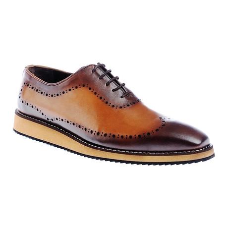 Burnished Dress Shoe // Brown
